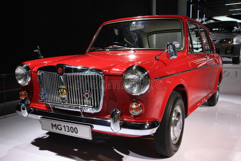 Download Mg1300 classic car editorial image. Image of chinese - 20437820