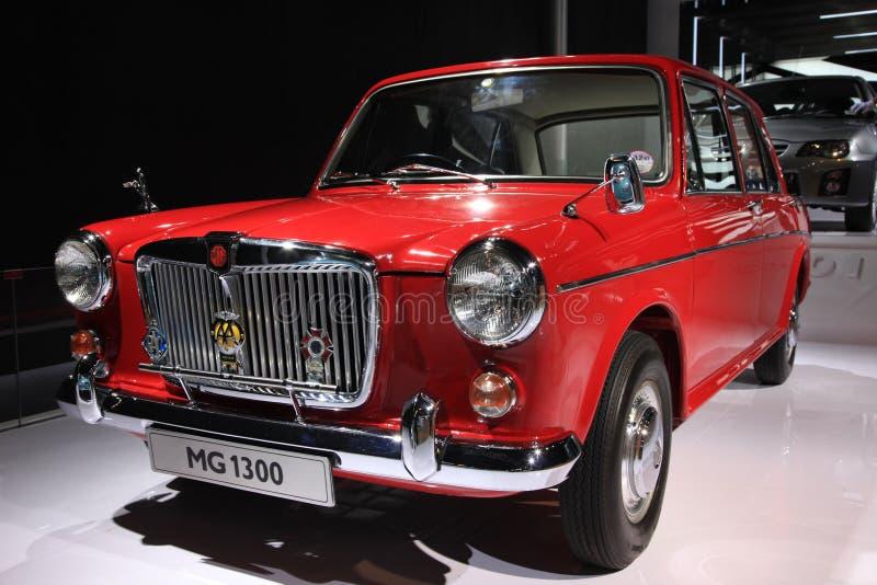 Mg1300 klassieke auto stock foto