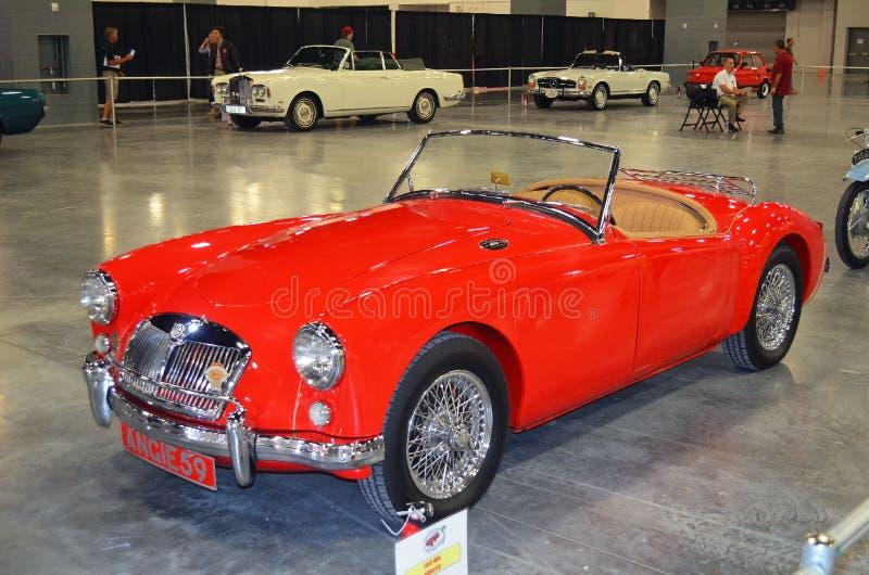 1959 MGA terenówka sporta samochodu klasyk obraz royalty free