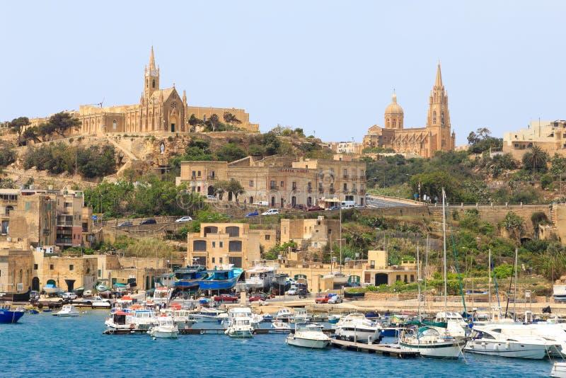 Mgarr, Gozo, Μάλτα στοκ φωτογραφία με δικαίωμα ελεύθερης χρήσης