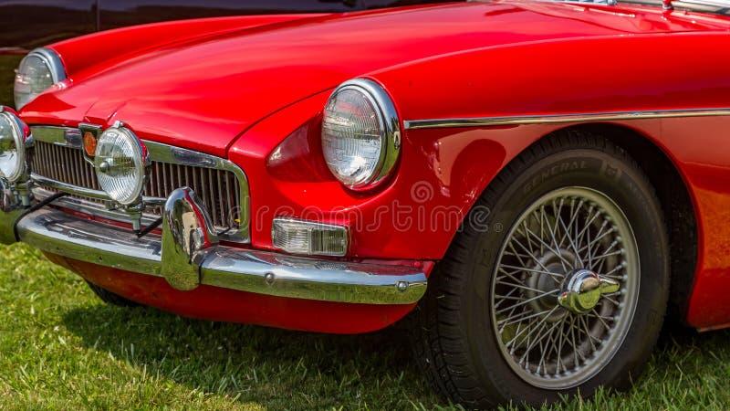 MGB 1966 lizenzfreies stockbild