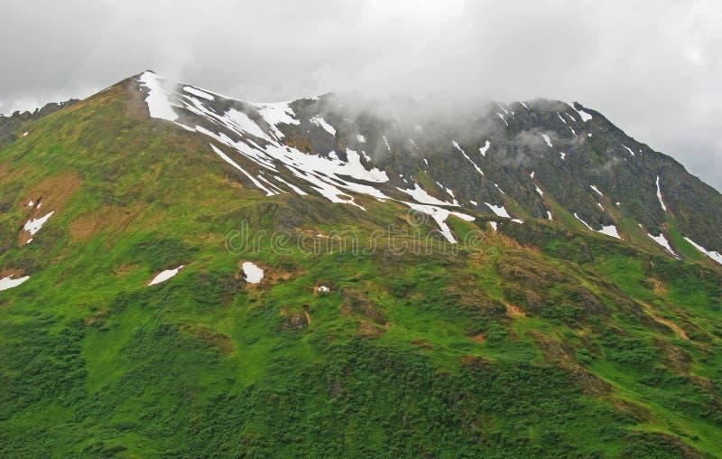 mgieł nabrzeżne góry obrazy royalty free