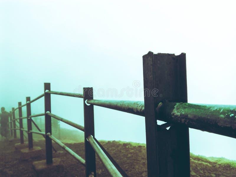 mglisty dzień obraz stock