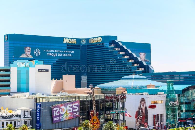 MGM το μεγάλο Λας Βέγκας στοκ φωτογραφία
