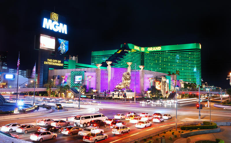 Download MGM Grand Hotel In Las Vegas Editorial Photography - Image: 13444502