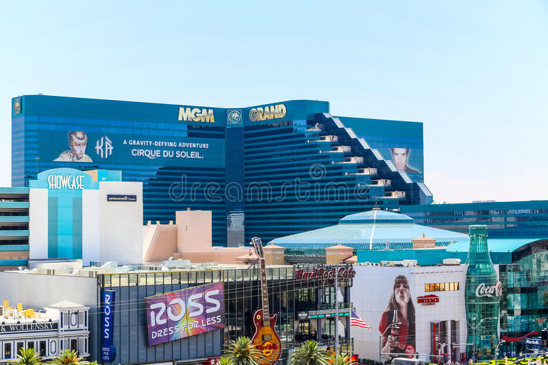 Mgm Grand Las Vegas photographie stock