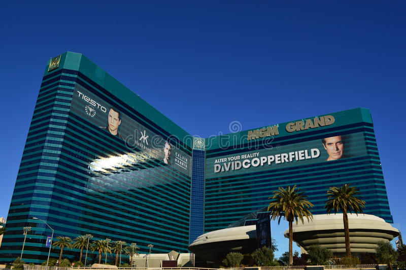 Mgm Grand Las Vegas photographie stock libre de droits