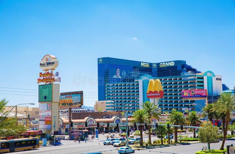 MGM-Hotel, Las Vegas royalty-vrije stock afbeelding
