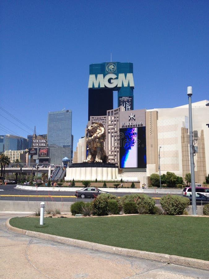 MGM Las Vegas royalty-vrije stock fotografie