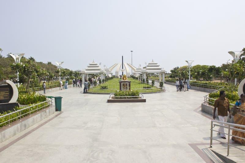 MGR-Gedenkteken in Chennai stock afbeelding