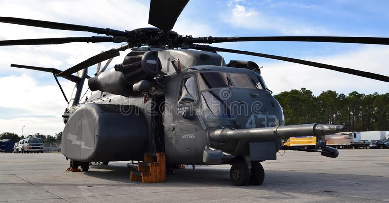 MH-53E overzees Dragon Helicopter stock foto's