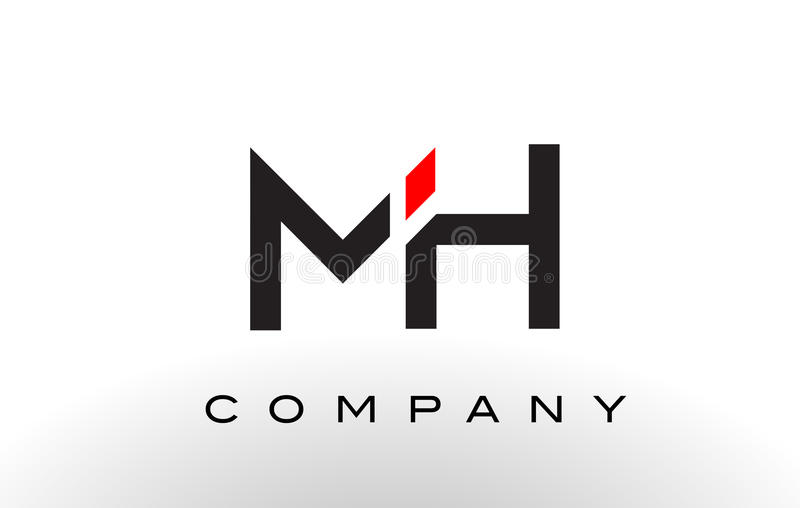 Download Mh Logo Letter Design Vector Stock Vector Illustration Of Symbol Logo