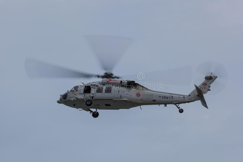 MH-60 Seahawk helicopter stock image