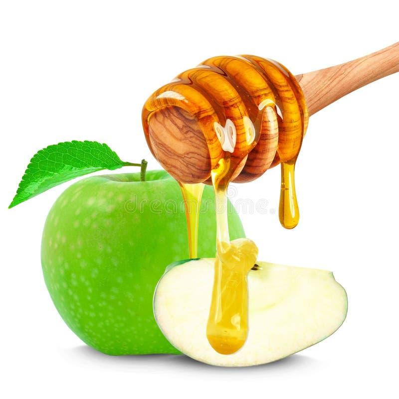 Miód i Apple zdjęcie stock