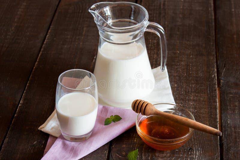 miód mleka obrazy royalty free