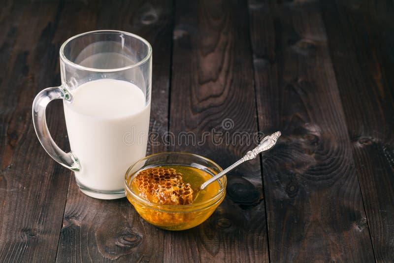 miód mleka zdjęcie royalty free