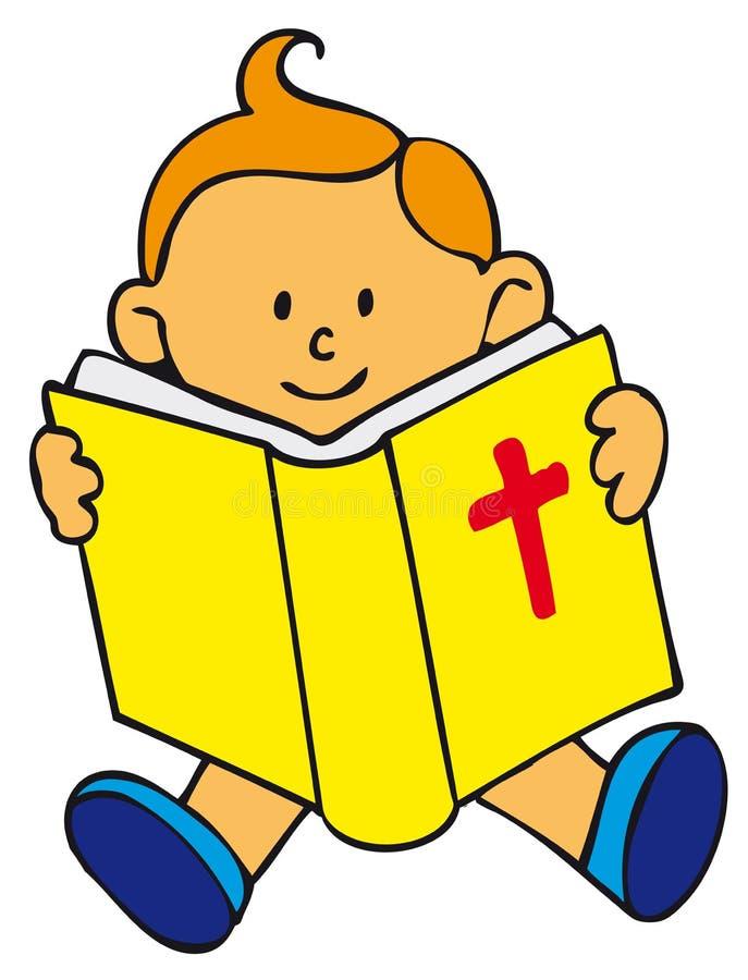 Miúdo da Bíblia ilustração do vetor