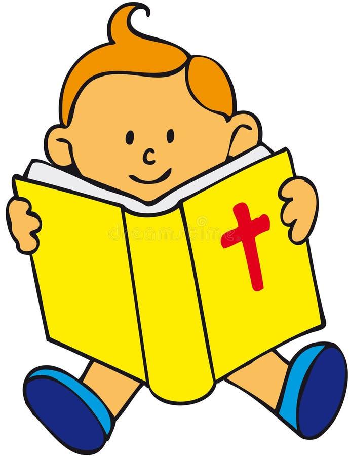 Miúdo da Bíblia ilustração royalty free