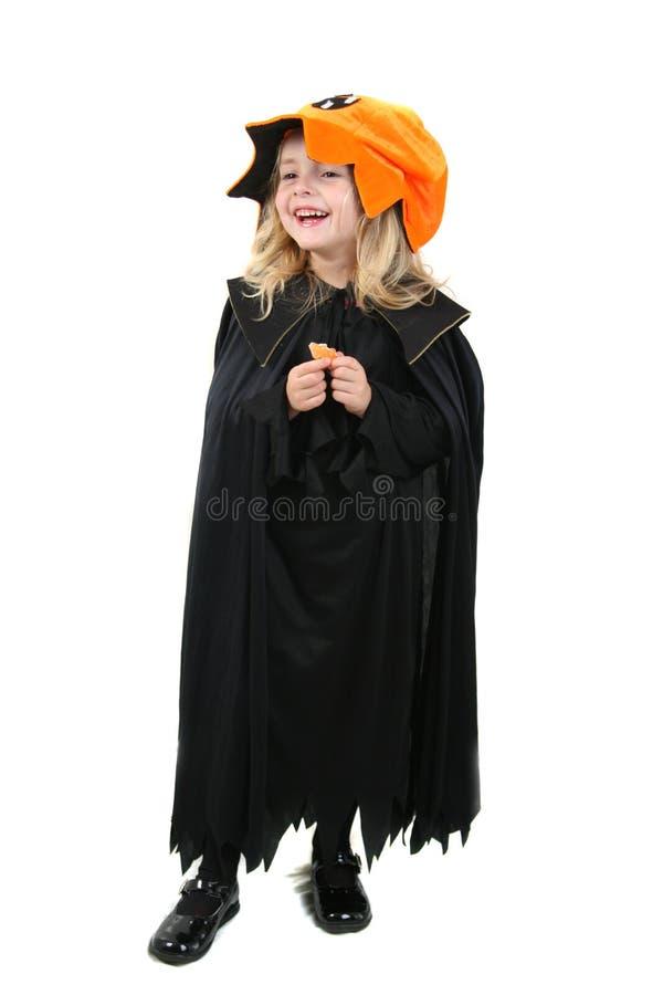 Miúdo de Halloween fotos de stock