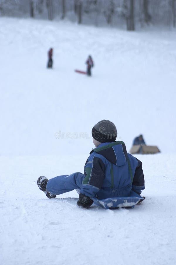 Download Miúdos imagem de stock. Imagem de tempo, inverno, outdoors - 104479