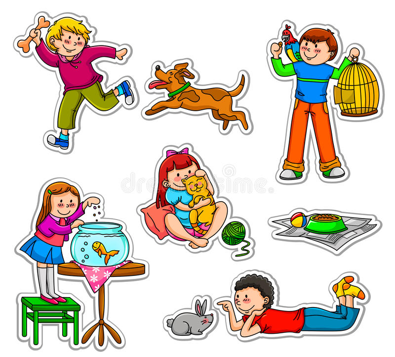Miúdos e animais de estimação