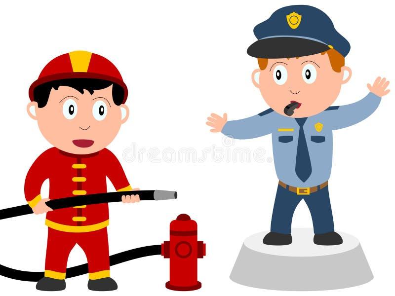Miúdos e trabalhos - pedido [2] ilustração stock