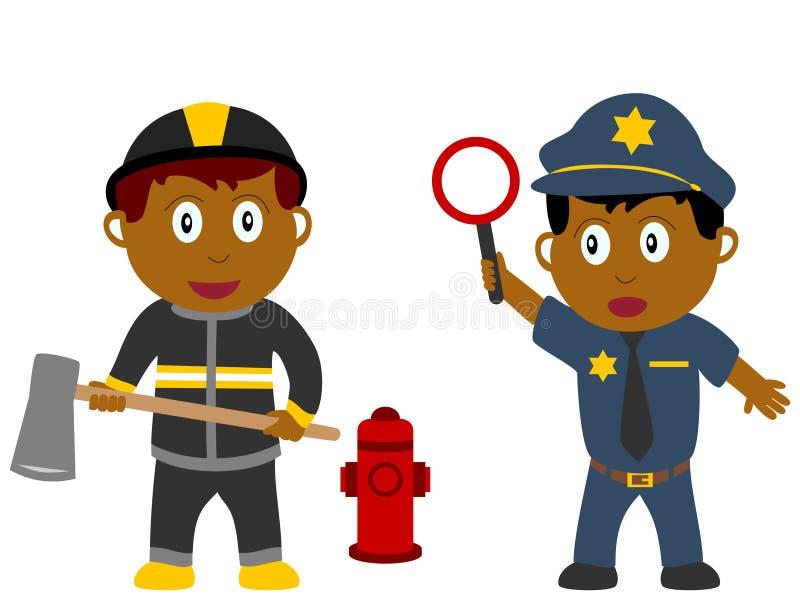 Miúdos e trabalhos - pedido [3] ilustração royalty free