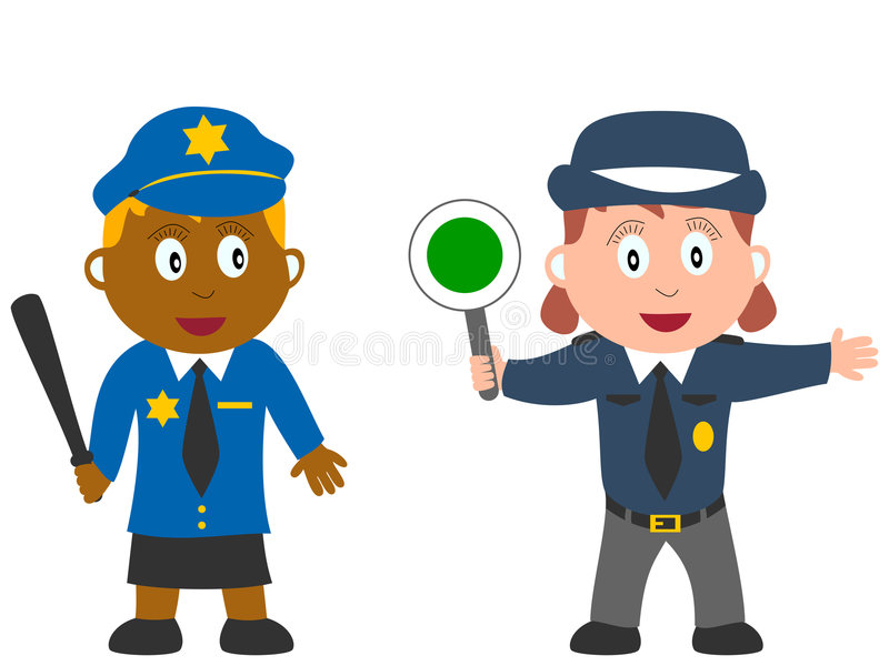 Miúdos e trabalhos - pedido [4] ilustração do vetor