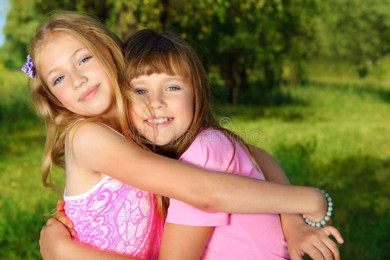 Miúdos encantadores fotografia de stock