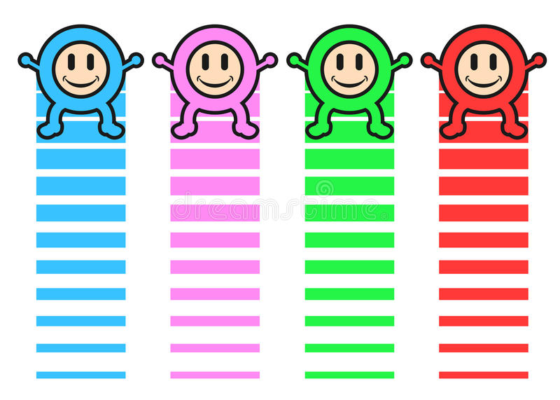 Download Miúdos felizes da cor ilustração do vetor. Ilustração de cuidado - 26517953