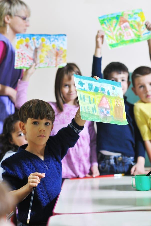 Miúdos prées-escolar imagem de stock royalty free