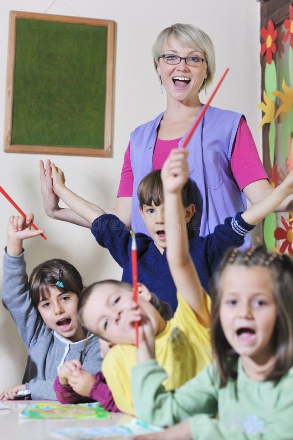 Miúdos prées-escolar imagens de stock royalty free