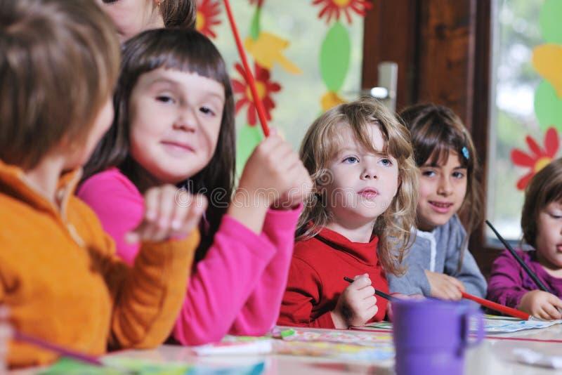 Miúdos prées-escolar fotos de stock royalty free