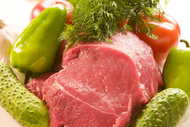 mięśni warzywa fotografia stock