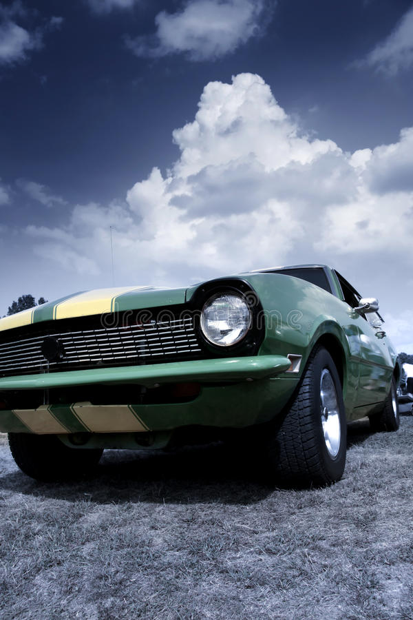 Mięśnia klasyczny samochód obrazy stock