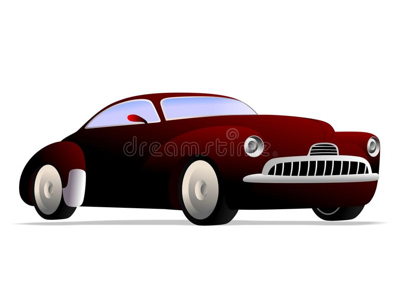 Mięśnia samochód ilustracja wektor