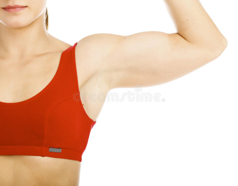 mięśniowa kobieta obraz stock