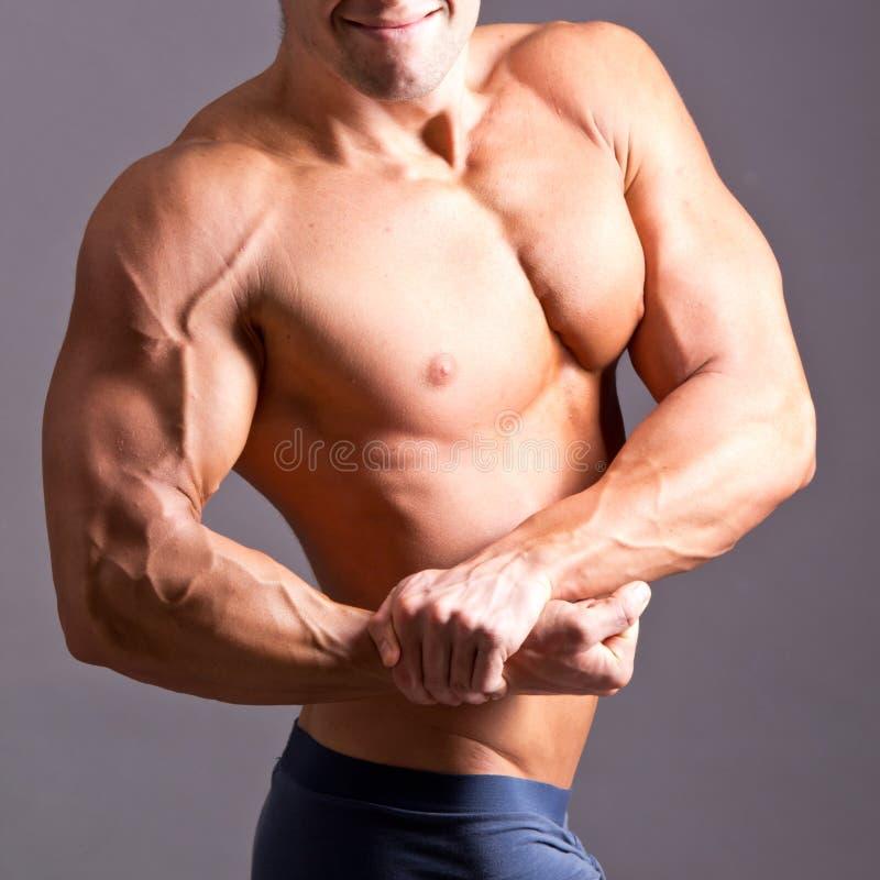 Mięśniowy Mężczyzna zdjęcia royalty free