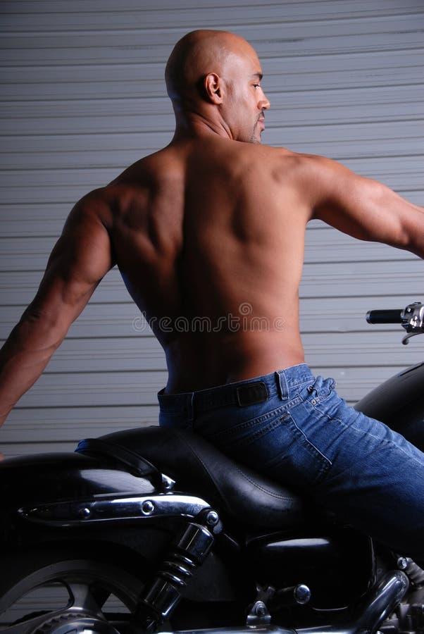 mięśniowy tylny mężczyzna obrazy royalty free