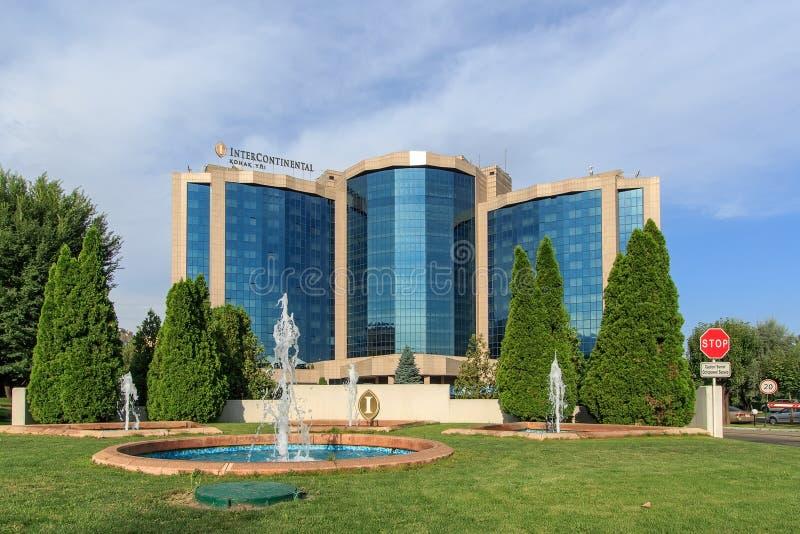 międzykontynentalny Almaty, Kazachstan obraz royalty free