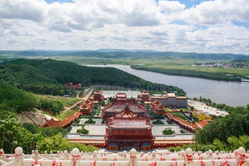 Międzynarodowa giganta Buddha świątynia fotografia stock