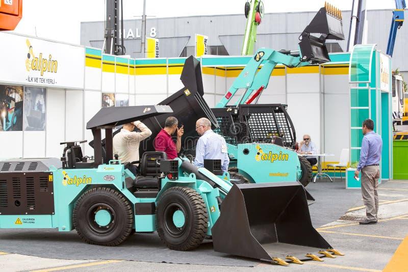 Międzynarodowa wystawa budowy wyposażenie, dodatkowe części i akcesoria expo, zdjęcie royalty free