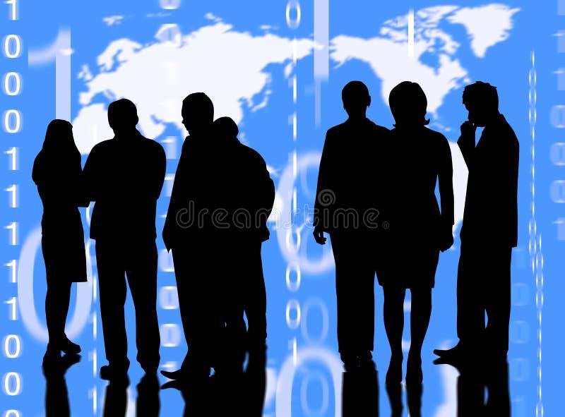 międzynarodowy biznes ilustracji
