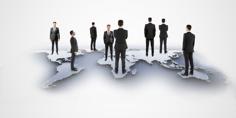 Międzynarodowy biznesu i partnerstwa pojęcie obraz stock