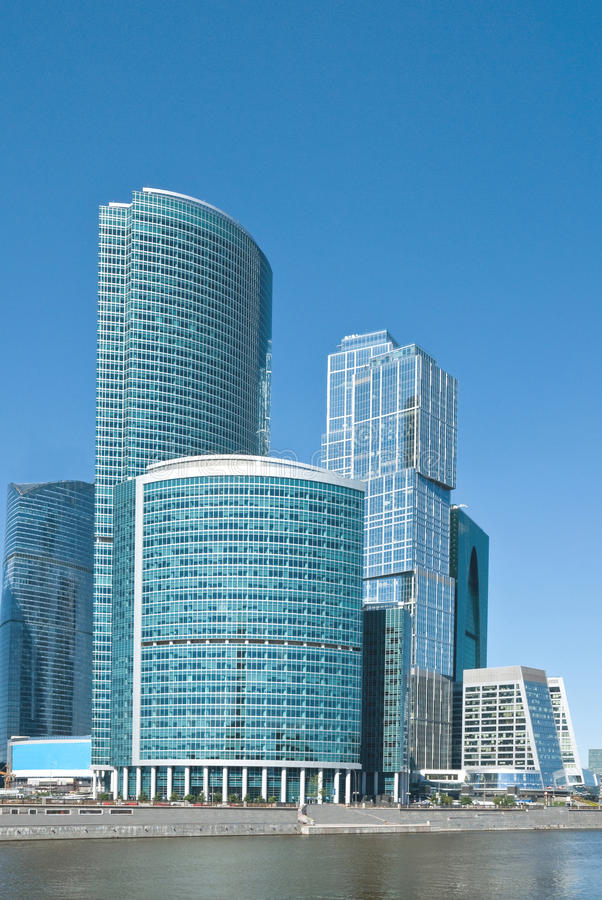 Międzynarodowy Centrum Biznesu zdjęcie royalty free