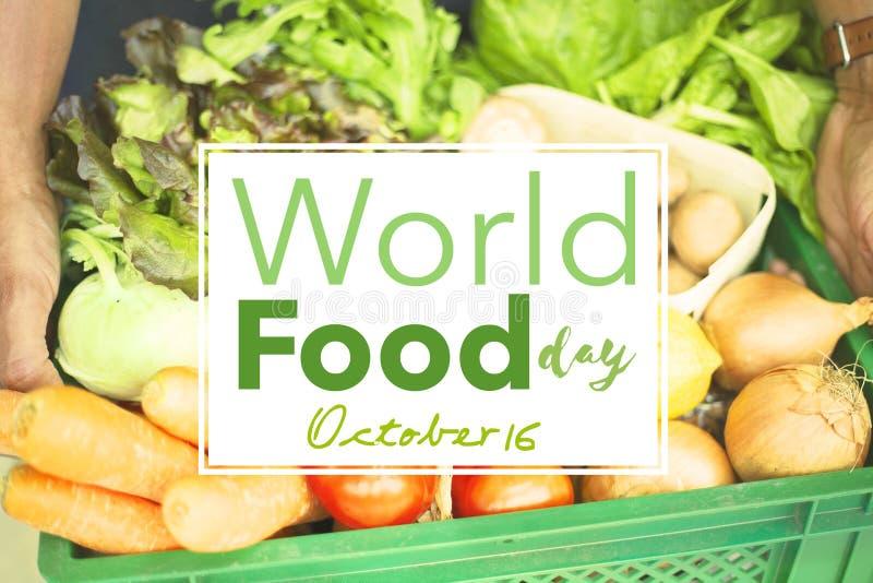 Międzynarodowy Karmowy dzień Październik 16 zdjęcie royalty free
