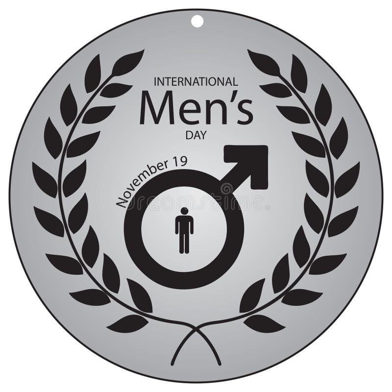 Międzynarodowy mężczyzna ` s dzień ilustracji