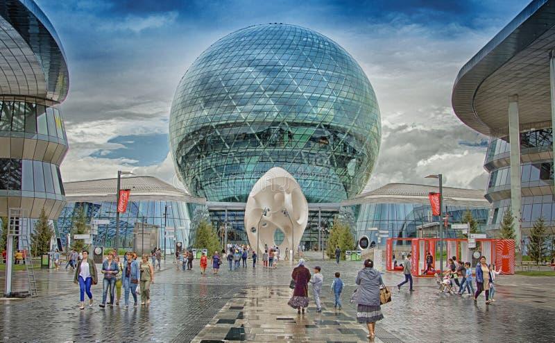 Międzynarodowy powystawowy Astana expo 2017 fotografia royalty free