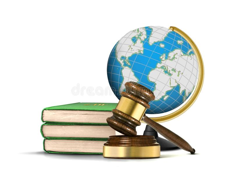 Międzynarodowy system sprawiedliwości zdjęcia royalty free
