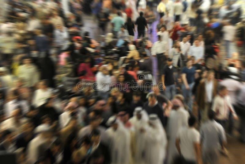 Międzynarodowy tłum obrazy stock